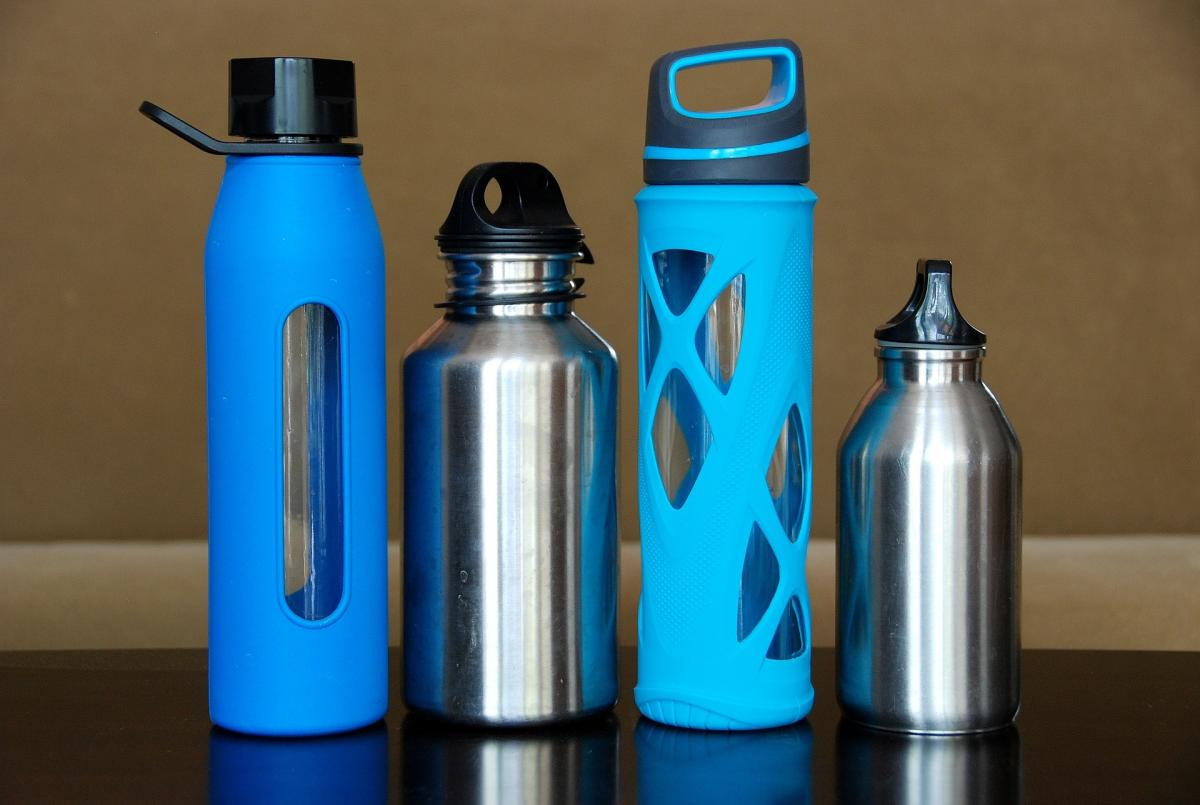 Reusable water bottles like those below are perfect for weight loss