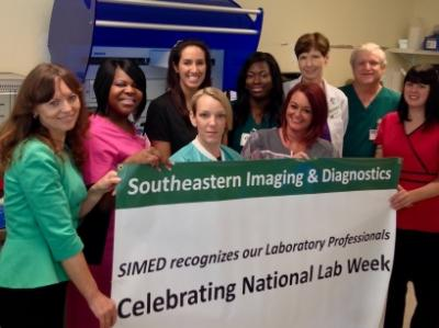 """""""Laboratory Professionals Get Results"""" is the theme for SIMED Medical Laboratory Professionals Week being celebrated April 19-25, 2015."""