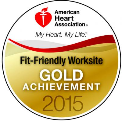 SIMED is honored to announce that we have been recognized as a Fit-Friendly work site for 2015.