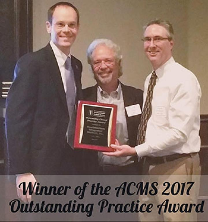 SIMED was awarded the 2017 Outstanding Clinical Practice Award by the Alachua County Medical Society.