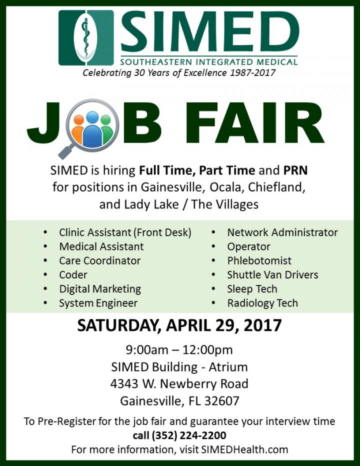 SIMED Job Fair