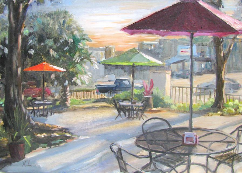 Xiao Li Art: Sweet Berry Cafe. Xiao Li's art is featured at SIMED.