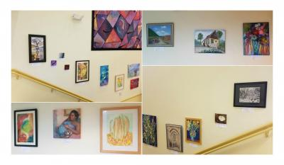 Gainesville Fine Arts Association artwork featured at SIMED in Gainesville