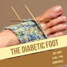 Foot with Pain from Diabetes Complications